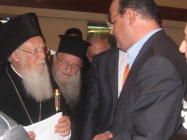 Συνάντηση με τον Οικουμενικό Πατριάρχη είχε αντιπροσωπεία εργαζομένων της ΕΡΤ3