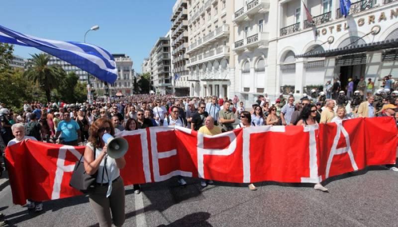 """ΟΚΔΕ: Διαδηλώνουμε στη ΔΕΘ - """"να ρίξουμε τη συγκυβέρνηση, να διώξουμε την Τρόικα"""""""