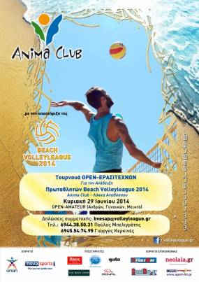 Beach Volley League 2014 - Οι τελικοί των «αστέρων».