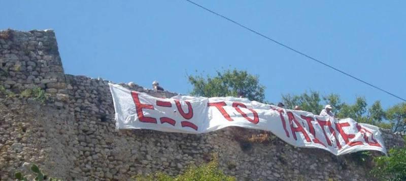 Διώξεις στο Ναύπλιο πολιτών που αντιστάθηκαν στις ορέξεις του ΤΑΙΠΕΔ