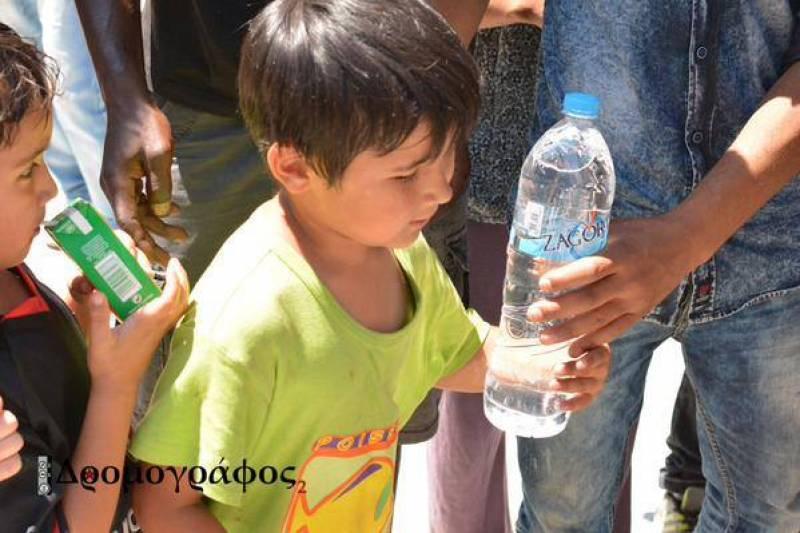 Κάλεσμα Αλληλεγγύης για τους πρόσφυγες του #Pedion_Areos
