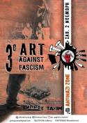 3o Art Against Fascism, Σάββατο 2/11 σε Αθήνα-Θεσ/νίκη
