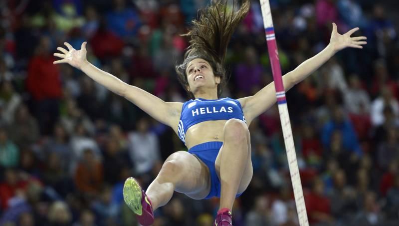Η Κατερίνα Στεφανίδη κατέκτησε το χρυσό μετάλλιο στο άλμα επί κοντώ στο Ευρωπαϊκό πρωτάθλημα στίβου