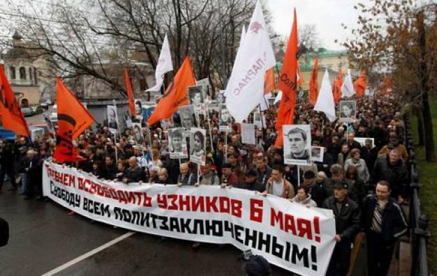 Κατά του Πούτιν διαδήλωσαν Ναβάλνι και χιλιάδες Ρώσοι