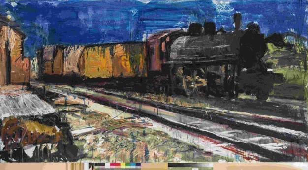 Το τοπίο της ΣΕΚ (Σιδηρόδρομοι Ελληνικού Κράτους) - Eγκαίνια σήμερα 6 Μαΐου