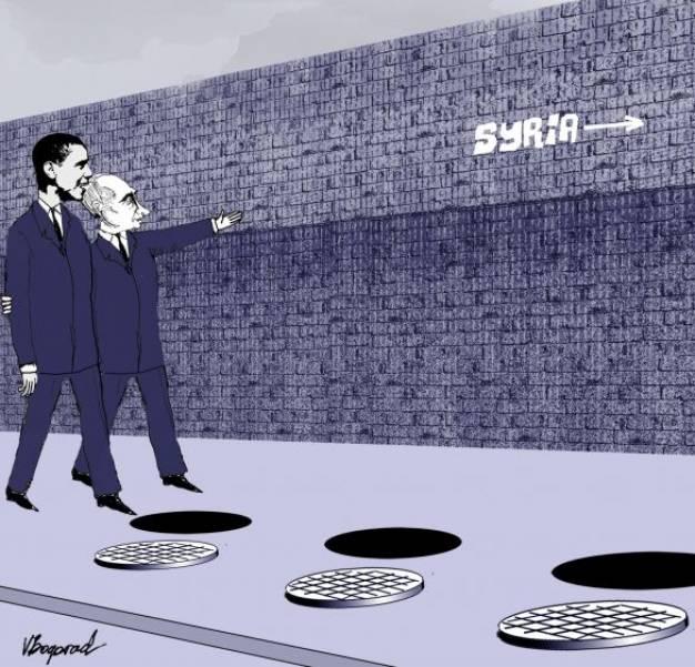 ΣΥΡΙΑ: Οι κινήσεις Ομπάμα στη Συρία έχρισαν νικητή τον Πούτιν - του Πάνου Χαρίτου