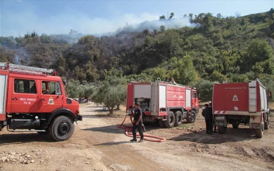ca1949037f5 Πυρκαγιά στα Ζερμπίσια Μεσσηνίας - ERT Open